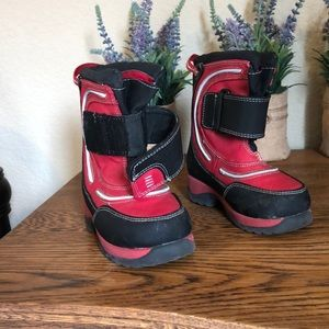 Other - Red and Black Snow Boots